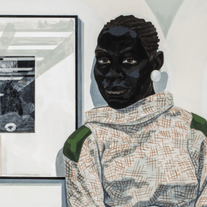 Carnegie Museum of Art in Pittsburgh Acquires New Kerry James Marshall Painting Depicting Single Female Figure