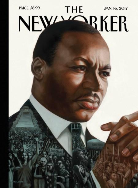 Illustrator Kadir Nelson Envisions Martin Luther King Jr For Cover