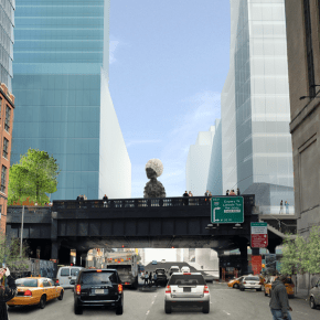 Monumental Sculptures by Simone Leigh, Charles Gaines May Perch Above High Line