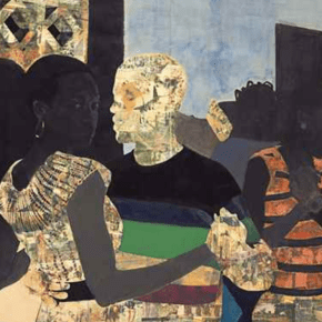 5 Works by Njideka Akunyili Crosby are For Sale at This Week's New York Art Auctions. Will They Surpass $3.1 Million Artist Record?