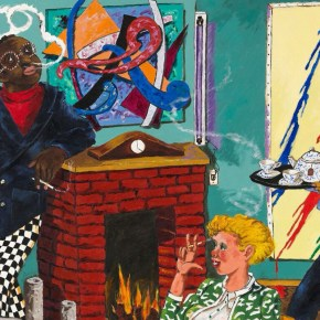 Cleveland Art Museum Acquires Robert Colescott Painting Depicting African American Collector