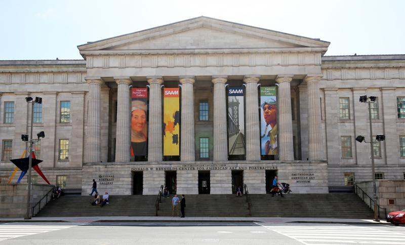 New Banners at Smithsonian American Art Museum Feature