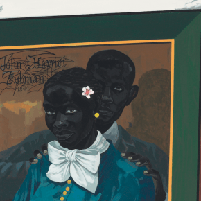 Auction Record: Kerry James Marshall's Imaginative Portrait of Harriet Tubman Reaches $5 million at Christie's New York