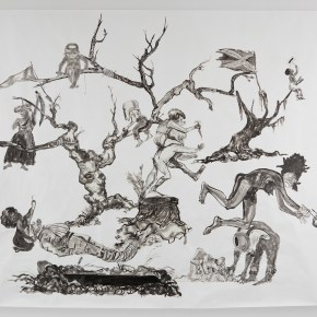Harvard Art Museums Acquire Large-Scale Drawing by Kara Walker From Recent Fall Show at Sikkema Jenkins Gallery