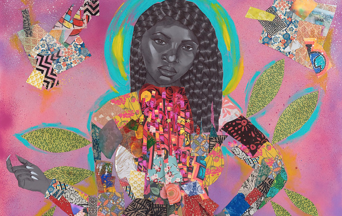 Artist Jamea Richmond-Edwards Explores Issues of Identity, Perception, and the Lure of Luxe Goods