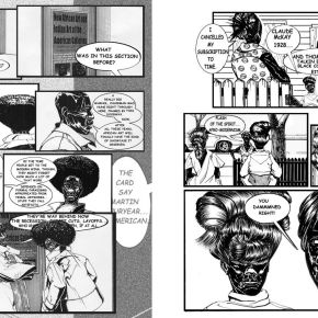 Two Decades After it Debuted, Kerry James Marshall is Revisiting His Rythm Mastr Comic Series at 2018 Carnegie International