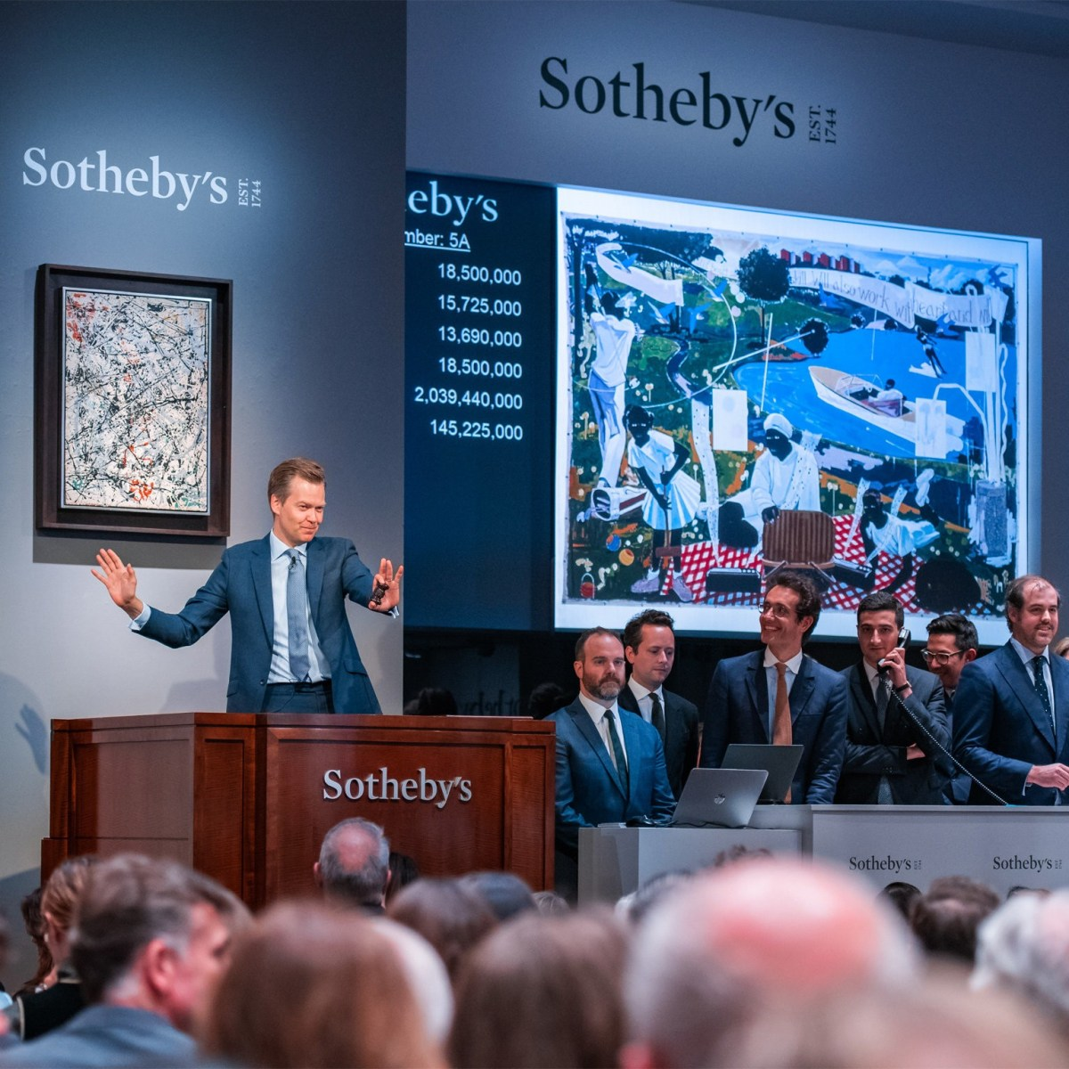 Kerry James Marshall's 'Past Times' Soars to Record-Setting $21.1 Million at Sotheby's, Artist Assumes Mantle as Most Expensive Living African American Artist