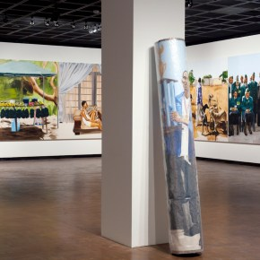 On View   'Meleko Mokgosi: Bread, Butter, and Power' at Fowler Museum at UCLA