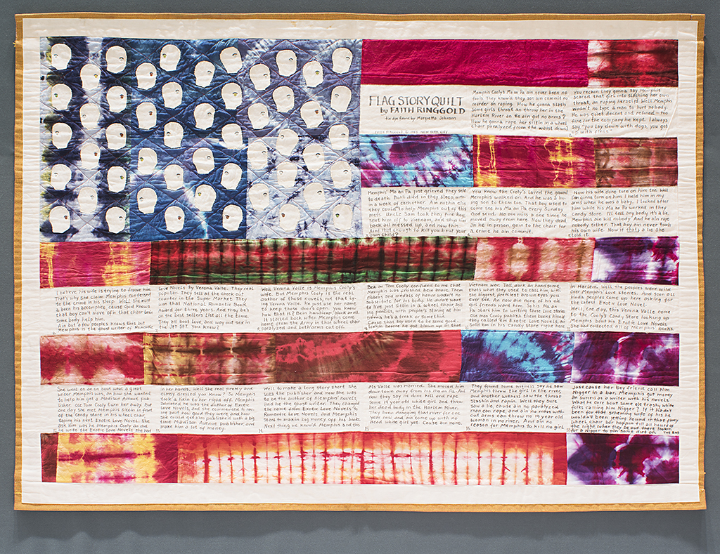 For Faith Ringgold, the American Flag Has Always Been a Potent and Powerful Symbol