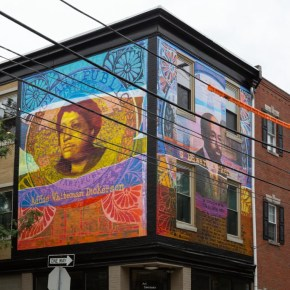 Latest News in African American Art: Philadelphia Mural Honors Couple That Sought to 'Improve Negro Race,' Detroit Art Week, Rashid Johnson Wins Aspen Award