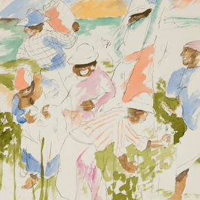 Robert Colescott at FIAC: An American Painter Reflects on Cultural Shift Witnessed in Late 1960s Paris