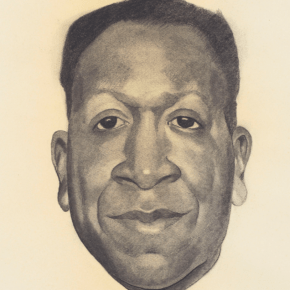Georgia O'Keeffe Made 5 Portraits of Beauford Delaney, 1 is For Sale at Christie's