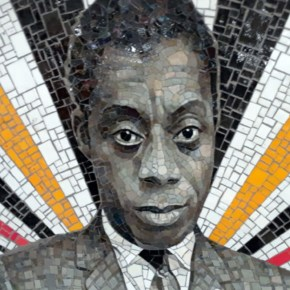 Rico Gatson Installed a Series of Powerful, Radiating Portraits of Historic Cultural Figures in a Bronx Subway Station