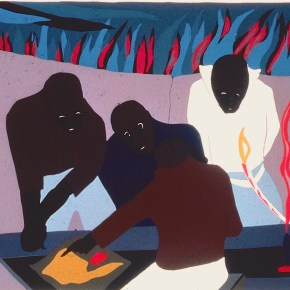 DC Moore Gallery is Showing Jacob Lawrence Series Documenting Life of  Haitian Revolutionary Toussaint L'Ouverture
