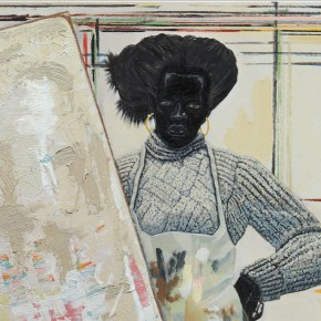 Soaring Past $7 Million, 'Untitled (Painter)' by Kerry James Marshall is Top Seller at Sotheby's New York