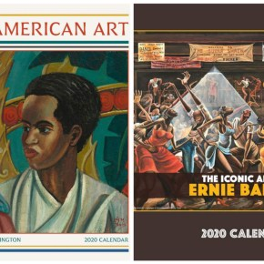 Celebrating African American Art Every Month of the Year, 2020 Calendars Showcase Charles White, Ernie Barnes, Alma Thomas, Basquiat and Bearden