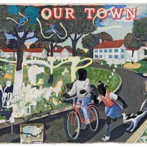 Virtual Reality Video Invites Viewers to Step Inside the Veiled Ideal of Kerry James Marshall's 'Our Town' Painting