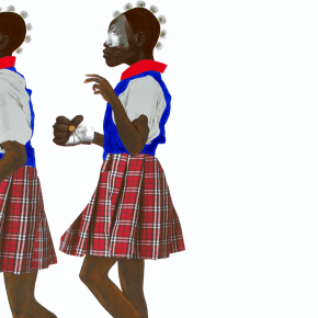 Exploring the Subjectivity of Black Children, Works by Deborah Roberts Have Recently Been Acquired by Museums in Boston, San Francisco, and Scotland