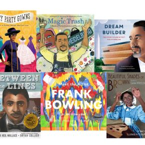 10 Children's Books Tell Uplifting Stories About the Lives and Work of Black Artists Including Tyree Guyton, Frank Bowling, Laura Wheeler Waring, and Ernie Barnes