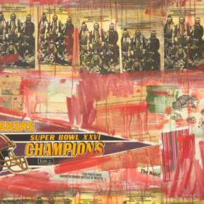 National Gallery of Art's First Painting By a Native American Artist Speaks to Race, Rage, and Problematic Name of Local NFL Team