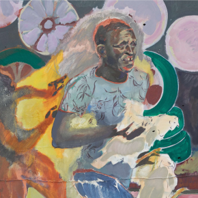 New Voice With Plenty to Say: Kenyan Painter Michael Armitage Bridges European Traditions and East African Modernism