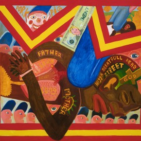 Employing 'Outrageous Color,' Peter Williams Makes Bold Paintings That Confront Racial Oppression and Envision a 'Black Universe'