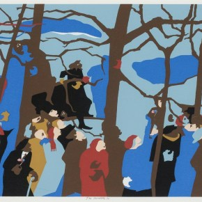 Commissioned During the Carter Era, Jacob Lawrence's Presidential Inauguration Image Centers the American People