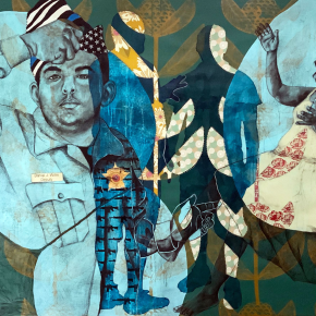 Blue Is the Color We See Before We Die: Delita Martin is Latest Artist to Contribute to Ava DuVernay's Police Accountability Project
