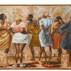 Auction Record: Gospel and R&B Icon Mavis Staples Sold Ernie Barnes Painting for $75K at Hindman in Chicago
