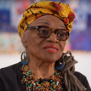 Faith Ringgold, 90, Talked to CBS About Her Art, Activism, and Perseverance: 'Anyone Can Fly, All You've Got to Do is Try'