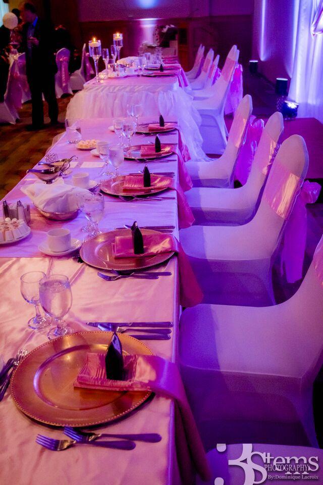 Wedding decor Ottawa by RSVP Events