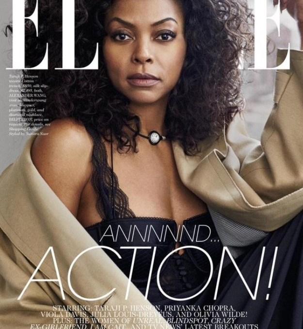Elle Magazine's 2016 features women of colour