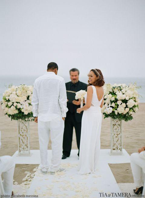 Tia Mowry Hardict Wedding Renewal at a Destination Location