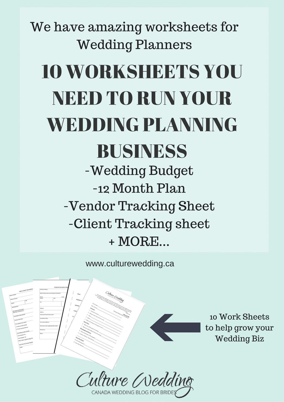 Wedding Templates for Wedding Planners | Culture Weddings & PR Firm ...
