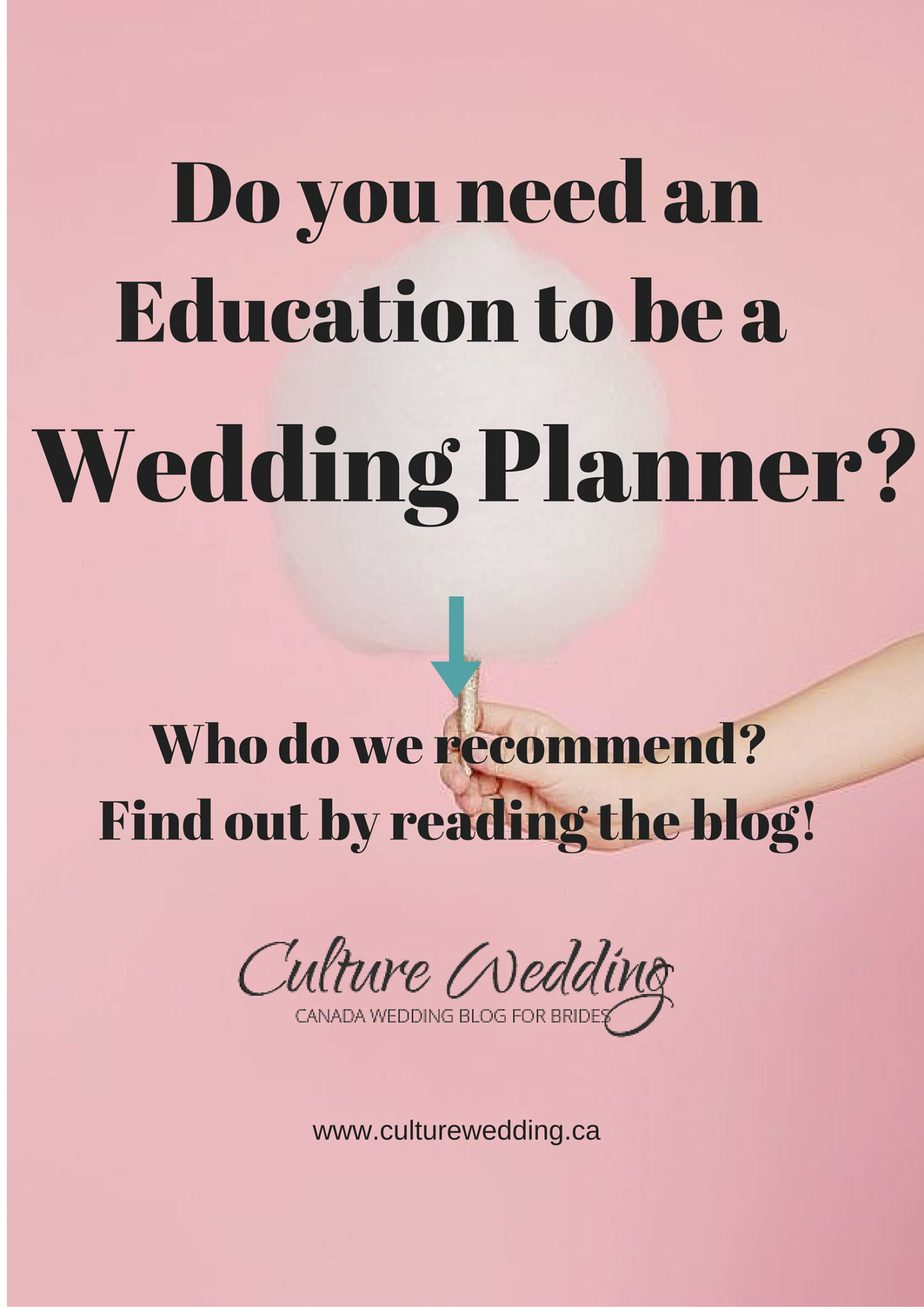 Do you need an education to be a wedding planner culture weddings do you need an education to be a wedding planner 1betcityfo Images