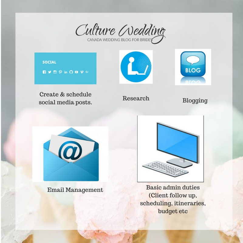 Virtual Assistant for Wedding Planners