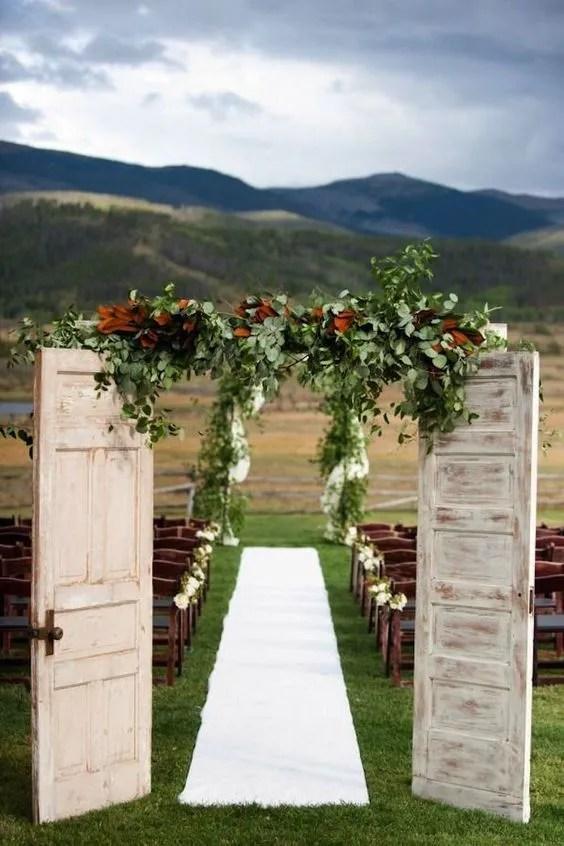 Outdoor Wedding ideas, rustic wedding