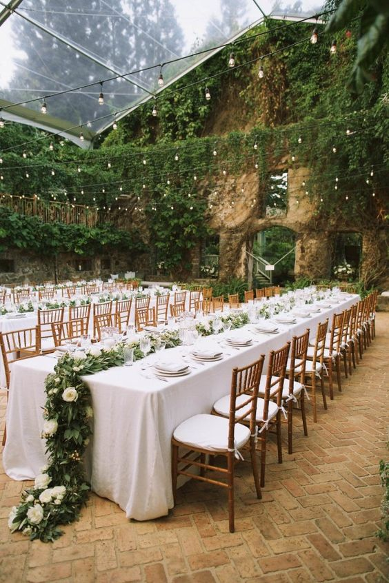 10 of the best outdoor wedding ideas from pinterest culture outdoor wedding decor ideas junglespirit Images