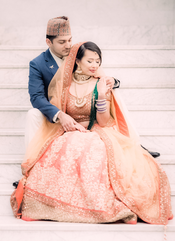 Engagement photos. An elegant Hindu engagement photos in NY Brooklyn/ Engagement photos. Hindu wedding. An elegant Hindu wedding. Cultural couples. Engagement photo ideas. Unique engagement photo ideas. Hindu engagement celebration. Style shoot photos #hinduwedding #culturalwedding