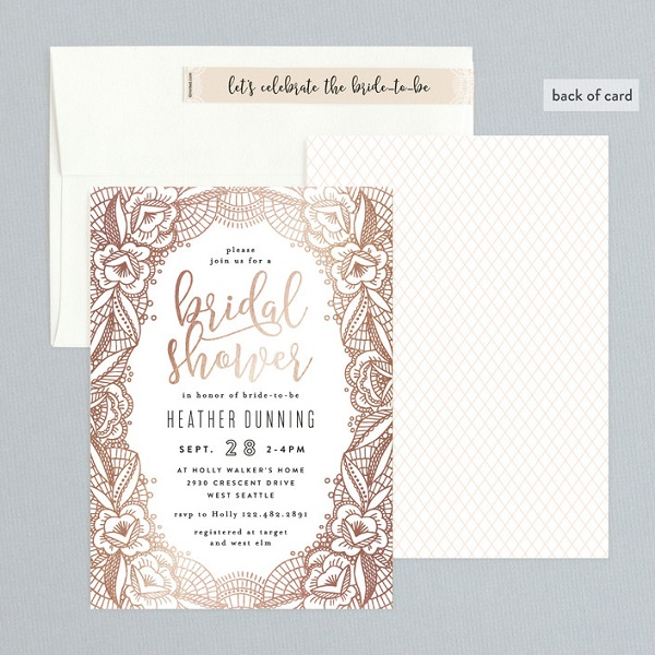 get the best bridal shower invitations for your spa themed bridal shower plan the perfect
