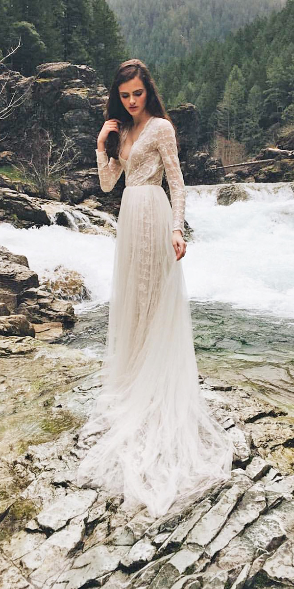 Extremely romantic bohemian wedding dresses with style culture bohemian wedding dresses bohemian wedding dress with lace bohemian wedding that is backless junglespirit Choice Image