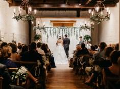 industrial chic wedding. Classy wedding in an industrial wedding setup. How to plan a wedding. Real couples getting married. #weddingplanning #chicwedding