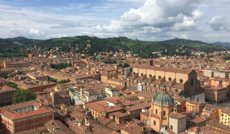 rain travels in bologna italy