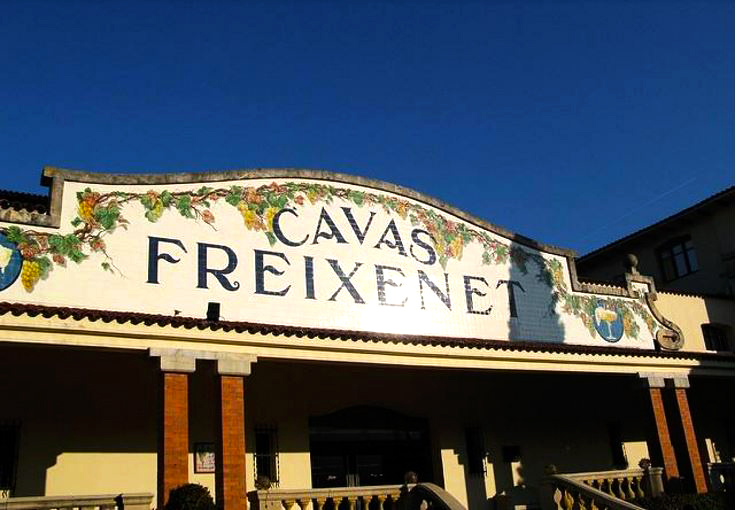 Photo: Freixenet Winery in Sant Sadurní d'Anoia by Cara Courage. Licensed under CC BY-ND 2.0.