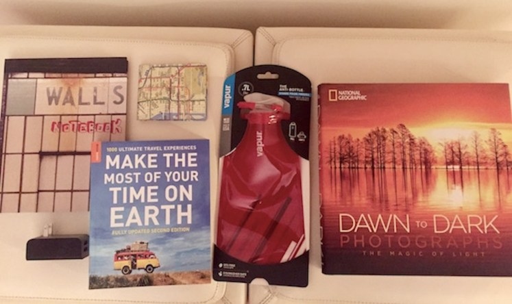 giveaway package from culture with travel