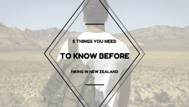 new zealand things to know before hiking