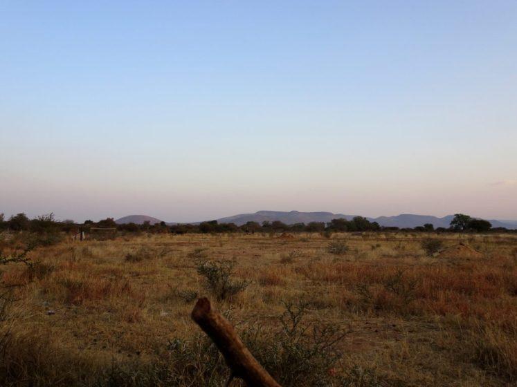 kanye village in botswana