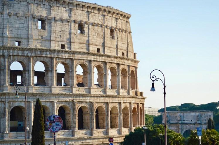 themed travel: colisseum