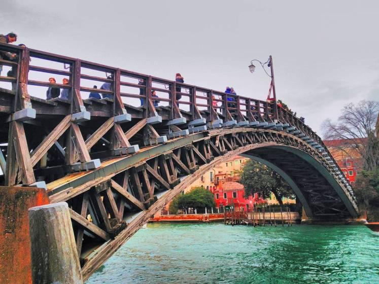 Ponte dellAccademia in Venice, Italy