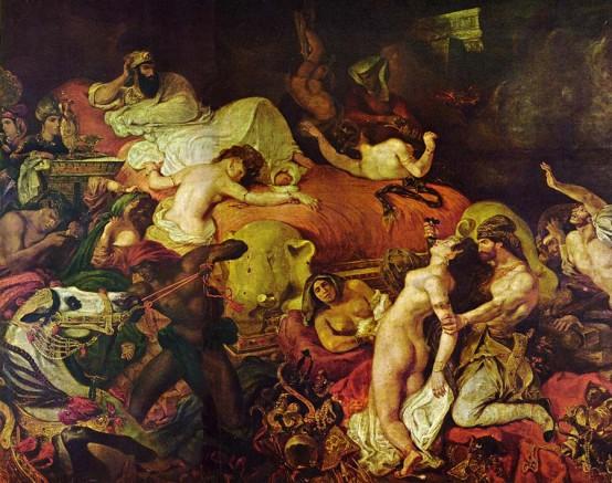 La Mort de Sardanapale, Eugène Delacroix